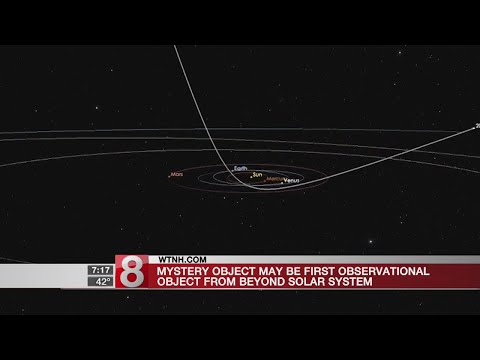 Mystery object may be first observational object from beyond solar system