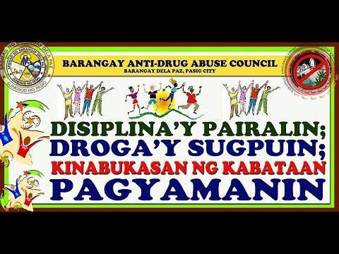 BADAC Barangay Anti Drug Abuse Council Jingle