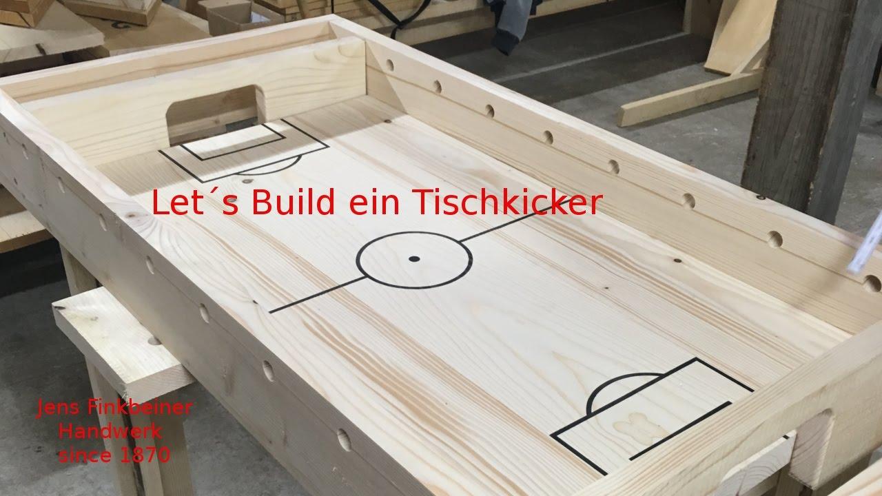 Tischkicker Selber Bauen Kosten