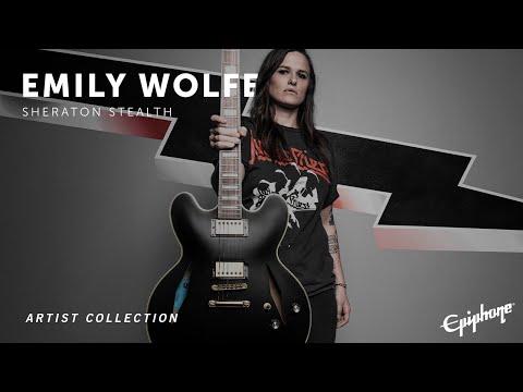 Epiphone | Emily Wolfe Sheraton Stealth