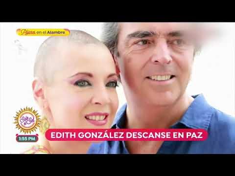 Así fue la trayectoria de Edith González   Sale el Sol
