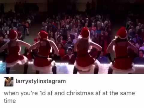 When you're 1D af+ Christmas af - YouTube