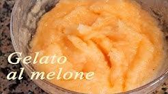 Gelato al melone fatto in casa - Melon ice cream