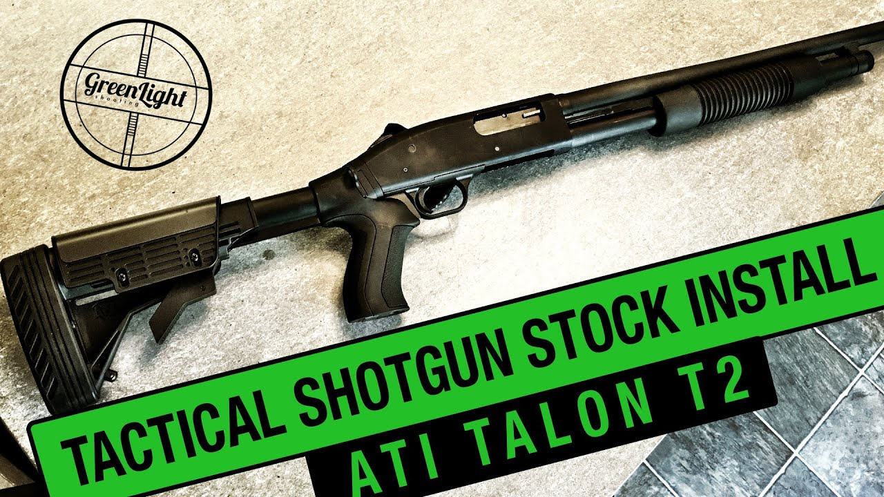 Mossberg 4x4 Replacement Stock Options 500, 535, 590 and 88