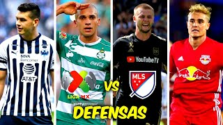 5 DEFENSAS MÁS CAROS de la LIGA MX vs 5 DEFENSAS MÁS CAROS de la MLS