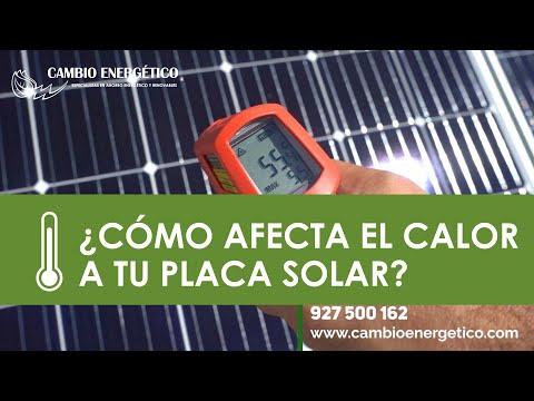 ¿Cómo Afecta El Calor A Las Placas Solares?
