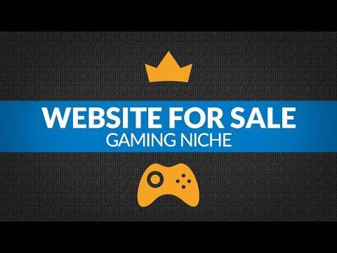 Website For Sale – $4.9K/Month in Gaming Niche, Freemium Model Business