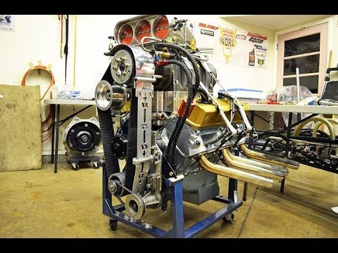Reassembly of the engine pulled out of the Front Engine dragster and is for  sale on racing junk