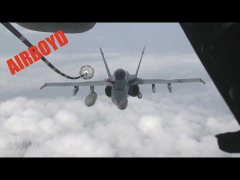 F-18 Air Refueling