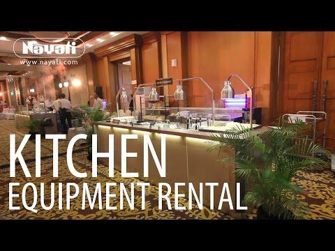 Catering Equipment Rental From Nayati Kitchen