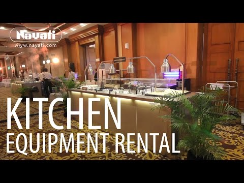 Catering Equipment Rental From Nayati Kitchen