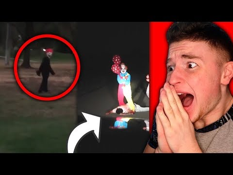 The CREEPIEST CLOWN VIDEOS You Will Ever See ON YOUTUBE! (SCARY)
