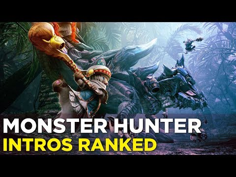 Pat and Allegra Watch and Rank Every Monster Hunter Intro
