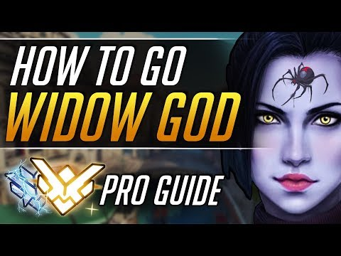 The TRICK to go WIDOWMAKER GOD - BEST Gameplay Tips | Overwatch Pro Guide thumbnail