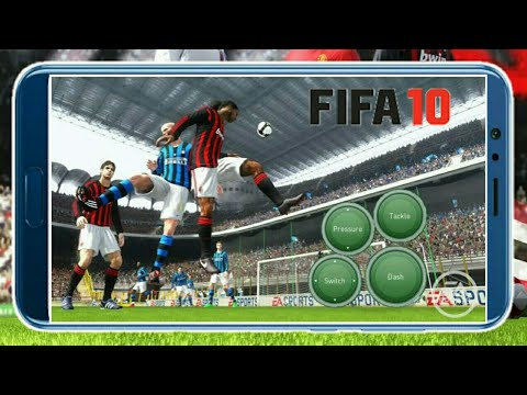 Real ! How To Download FIFA 10 Android Offline Soccer Game With Good Graphics 830 Mb Official By EA