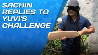 Sachin's incredible reply to Yuvraj Singh's challenge