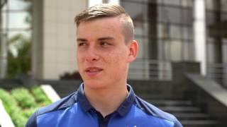 Андрій Лунін - деб'ютант збірної України