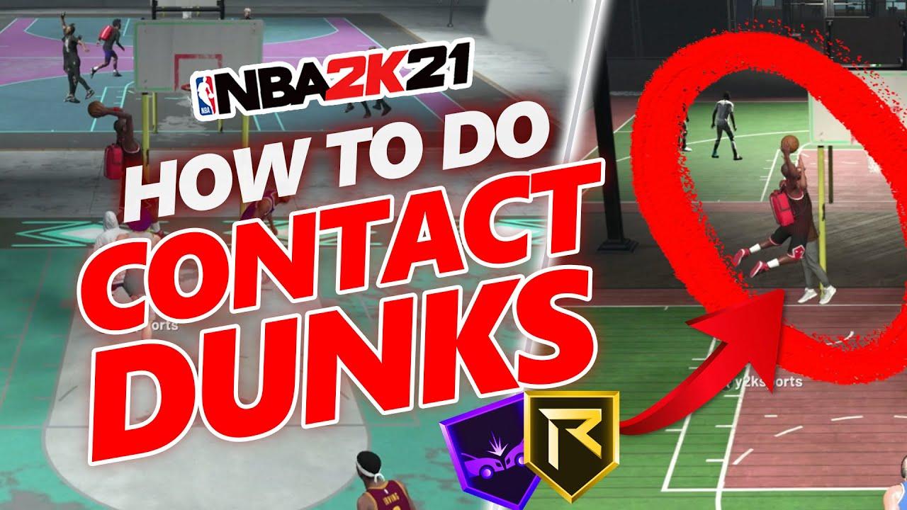 Download NBA 2K21 Contact Dunk Tutorial   HOW TO GET CONTACT DUNKS IN NBA 2K21 SECRETS!