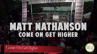 Matt Nathanson performs