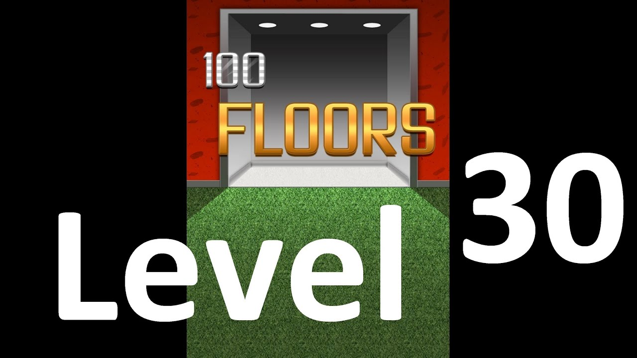 100 Floors Level 30 Solution Floor 30 Youtube
