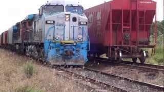Trem - Trecho ZEB/Tanabi/SP - 23/03/13 - Lider/ AC44i / SD70