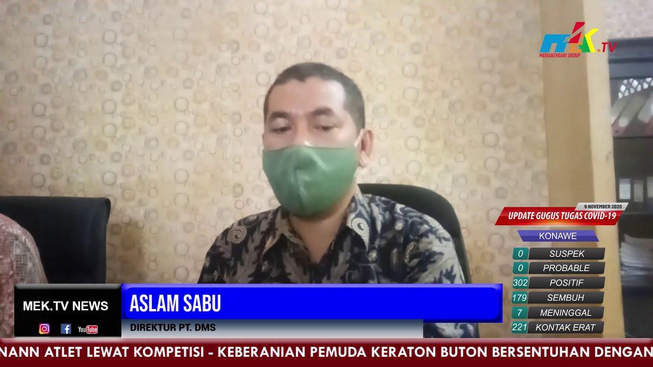 Security Edarkan Sabu, PT  DMS Berikan Klarifikasi
