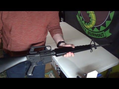 M16A1 Retro Complete Build |  AR-15 A1 style modern Retro Tribute build