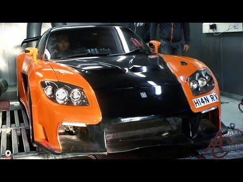 Mazda RX7 Veilside Fortune - Dyno tune Sounds!