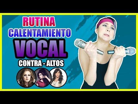 RUTINA VOCAL DIARIA para CONTRA-ALTOS | Clases de Canto | CASIO CHORDANA PLAY
