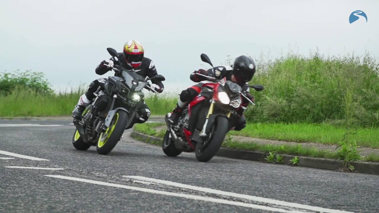 Yamaha Mt 10 Vs Bmw S1000r Naked Ambition Bike Social Youtube