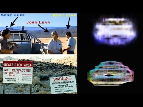 Bob Lazar and Friends Filming Test Flight Alien Craft at Area 51 (1989) - FindingUFO
