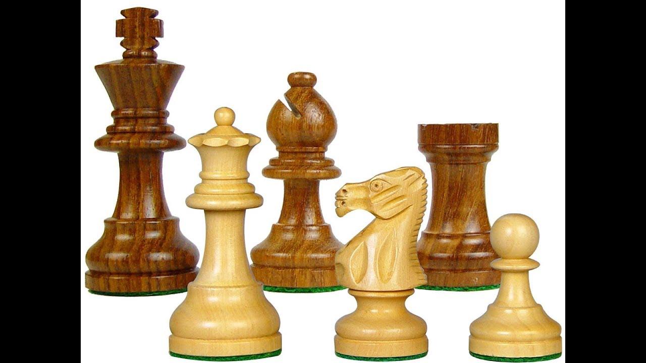 Công đoạn làm bộ cờ vua tiêu chuẩn từ gỗ