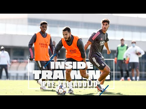 ???? Hazard, Asensio & co prepare for Valladolid clash!