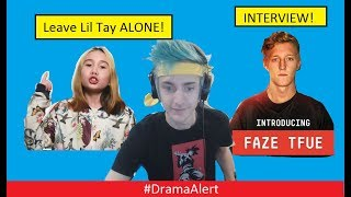 Leave Lil Tay ALONE! #DramaAlert Ninja GOD! FaZe Tfue INTERVIEW!