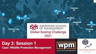 GSC 2021 Day 3 | Session 1 - Case: Wildlife Protection Management