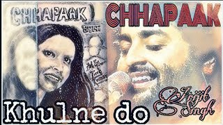 Khulne do | Chhapaak latest song | Deepika Padukone | Drawing video | Pine Official