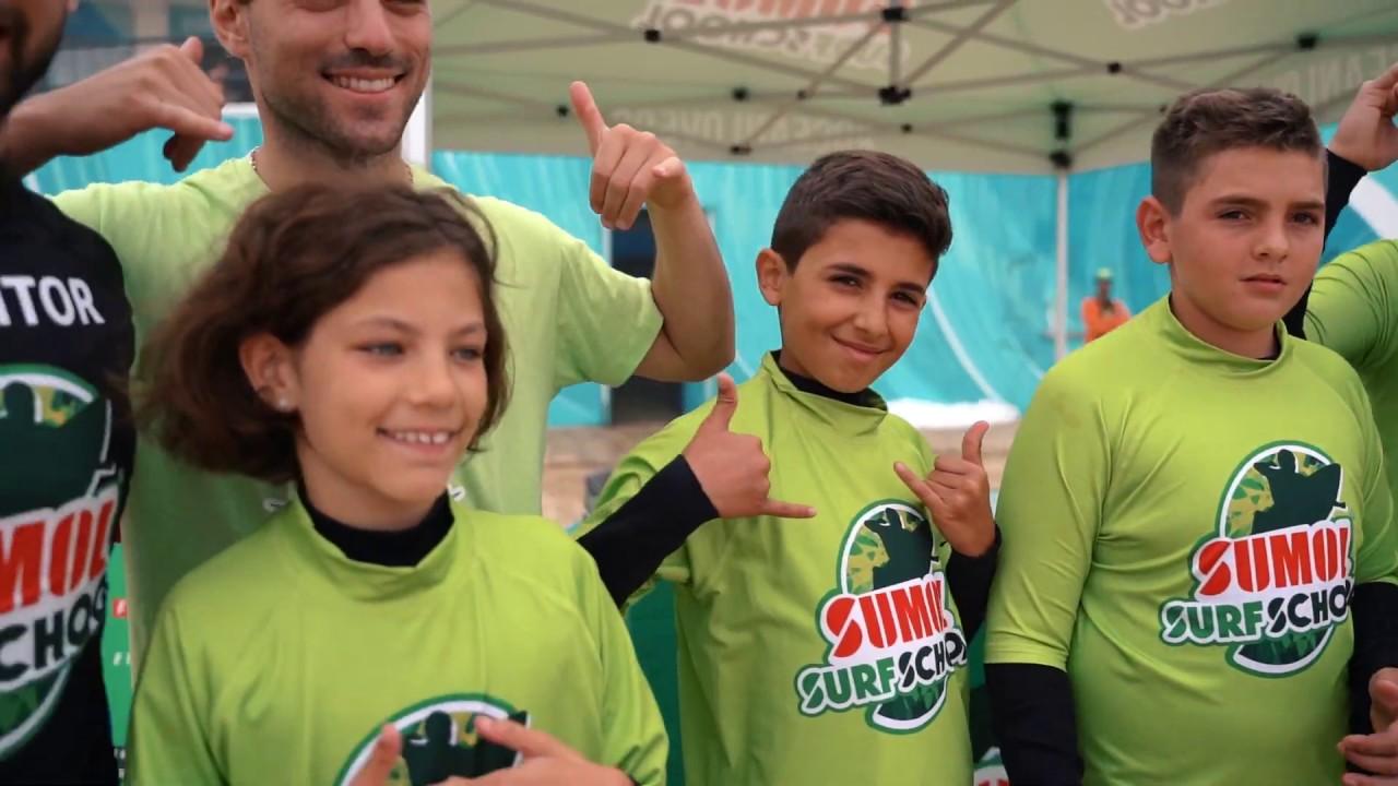 Sumol Surf School - Open Days - YouTube