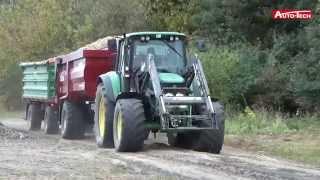 Zbiór ziemniaków przyczepami rolniczymi Auto-Tech