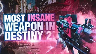 Most INSANE Weapon In Destiny 2! Redrix's Claymore Highlights & Review!
