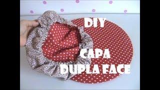 Como fazer Capa dupla face para Sousplat DIY