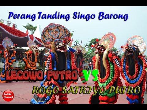 Jaranan Legowo Putro 2016 Vs Rogo Satriyo Putro Live Barongan