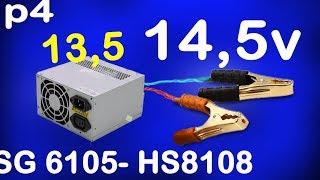 convert atx power supply to bench power supply, ATX PSU hack 13,8v, 14,5v  Alf