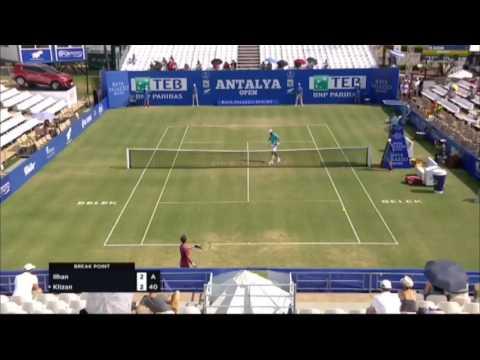 Marsel Ilhan - Martin Klizan (ATP Antalya Open 2017) Highlights
