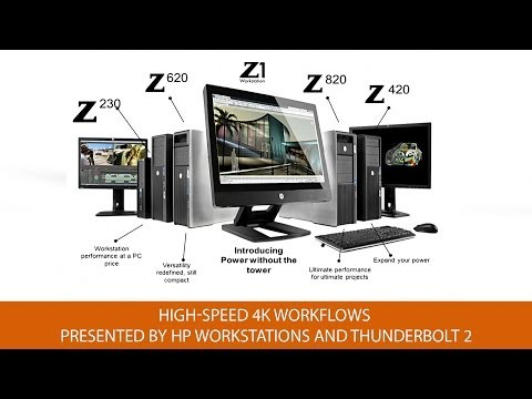 The Power of Thunderbolt 2 and High-Speed 4K Workflows