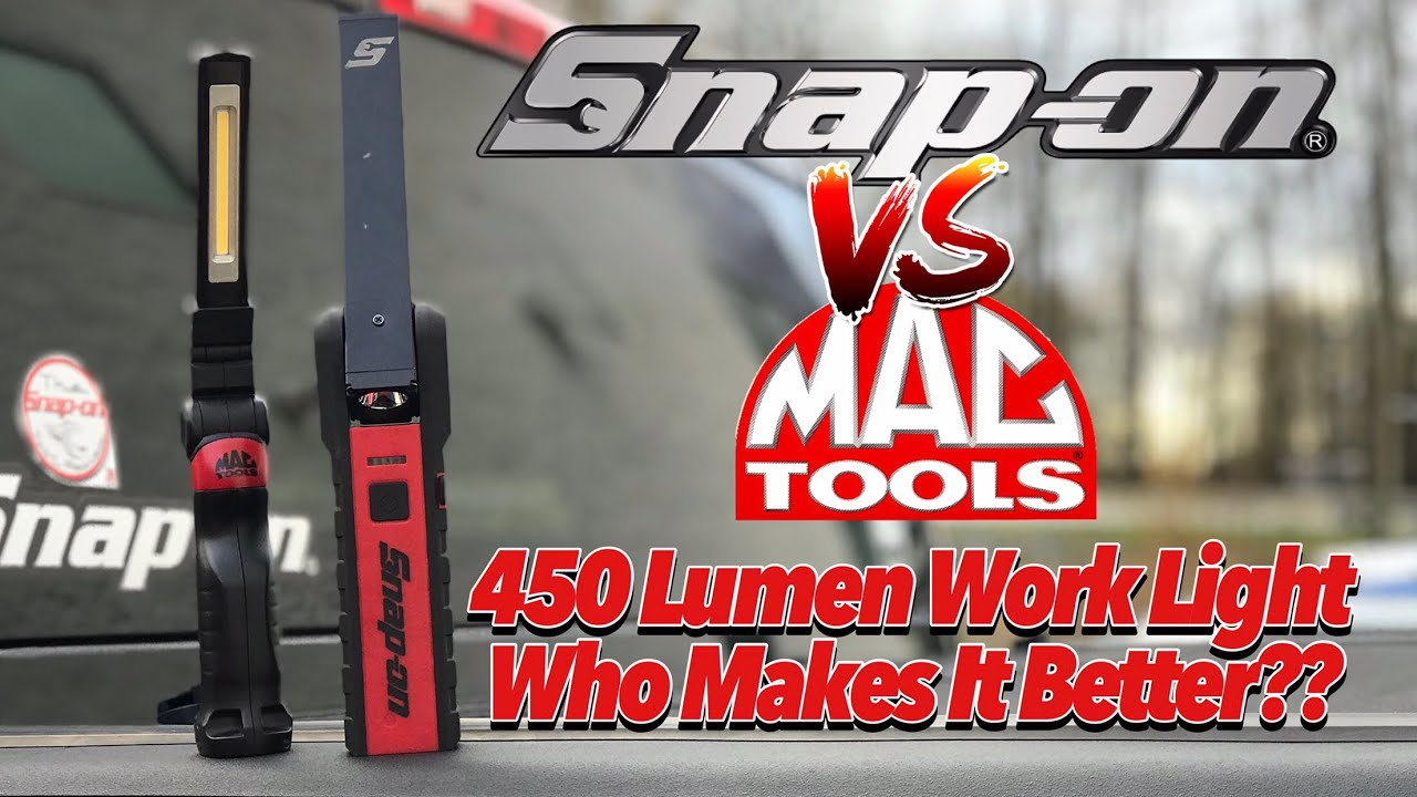 Snap On Vs Mac 450 Lumen Work Light Who Makes It Better