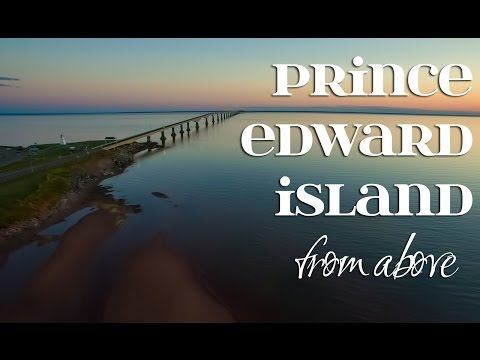 Prince Edward Island From Above