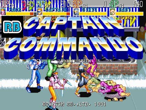 1991 [60fps] Captain Commando (World) DEMO