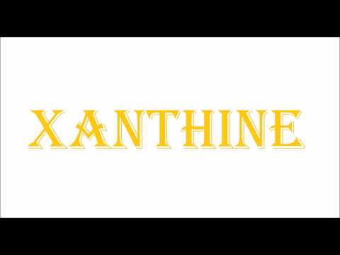 How To Pronounce XANTHINE
