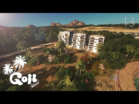 ARTIFICIAL ISLANDS (part 1) - Cities Skylines: Goji island - ep.13