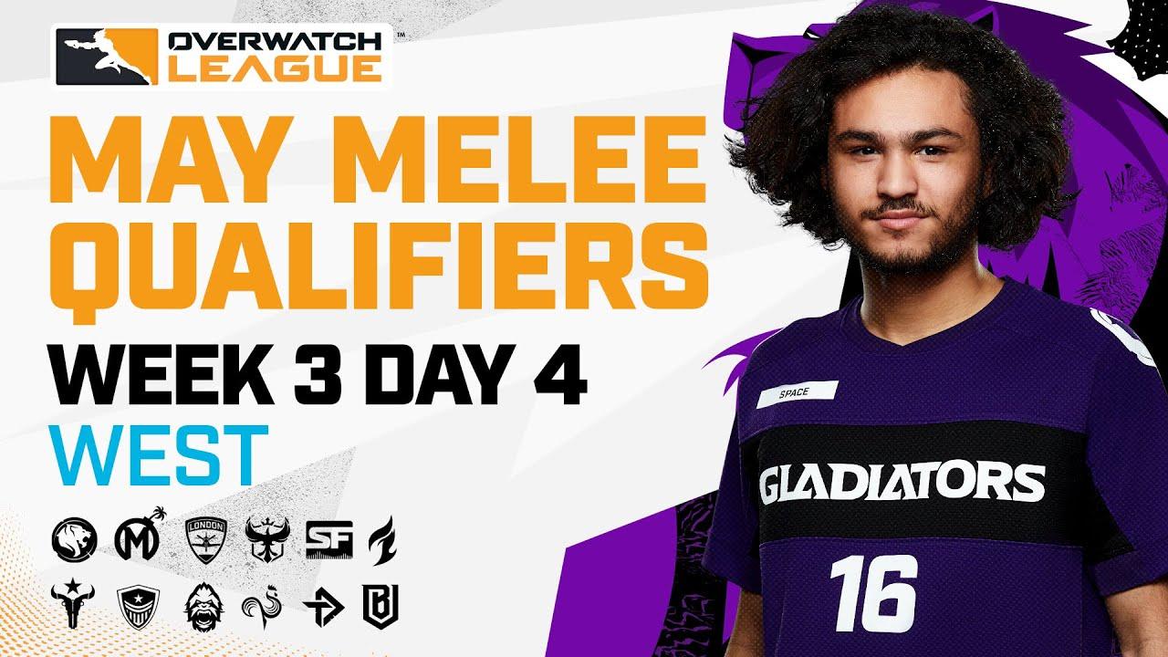Overwatch League 2021 Season | May Melee Qualifiers | Week 3 Day 4 — West